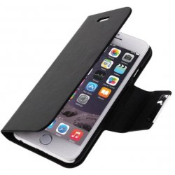 Housse Etui Folio noir iPhone 6 Plus