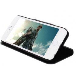 Housse Etui Folio noir iPhone 6