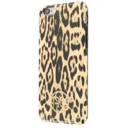 Coque arriere rigide Leopard GUESS LOGO iPhone 6/6S