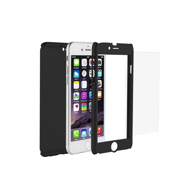 verre trempe bords noirs incurves pour iphone 6 6s jaclem. Black Bedroom Furniture Sets. Home Design Ideas