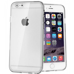 SILICONE ARRIERE TRANSPARENTE POUR IPHONE 6/6S