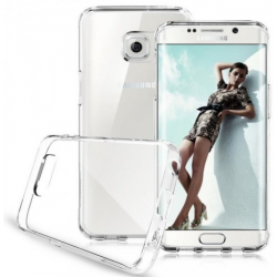 SILICONE ARRIERE TRANSPARENTE POUR SAMSUNG GALAXY S7 EDGE