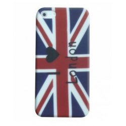 COQUE ARRIERE RIGIDE STAX I LOVE LONDON POUR IPHONE 5/5S/SE SOUS BOITE BLISTER