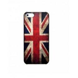 COQUE ARRIERE RIGIDE STAX DRAPEAU UK VINTAGE POUR IPHONE 5/5S/SE SOUS BOITE BLISTER