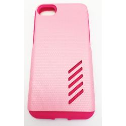 COQUE RIGIDE IPHONE 6/6S/7 GEOMETRIQUE ROSE