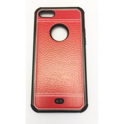 COQUE RENFORCEE IPHONE 6/6S/7 COUTURE ROUGE