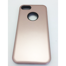 COQUE ARRIERE IPHONE 6/6S RENFORCEE UNIE BRONZE