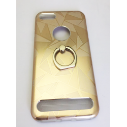 COQUE METAL IPHONE 6/6S/7 INTERIEUR SILICONE BAGUE PRIME OR