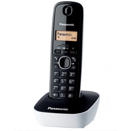 TELEPHONE NUMERIQUE SANS FIL PANASONIC KX-TG1611 BLANC