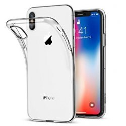 COQUE SILICONE SOUPLE TRANSPAPRENTE POUR IPHONE X