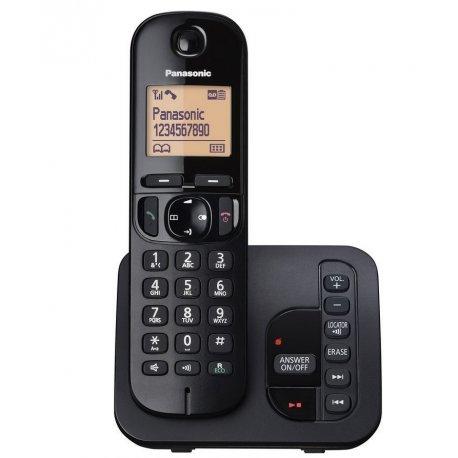 telephone sans fil panasonic kx tgc 220 avec repondeur noir jaclem. Black Bedroom Furniture Sets. Home Design Ideas