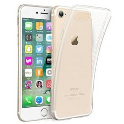 COQUE SILICONE IPHONE 7 TRANSPARENTE