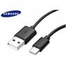 CABLE TYPE C/USB ORIGINE SAMSUNG S8/S8+/NOTE 8/ A8/ 2018/A3 2017/ VRAC NOIR
