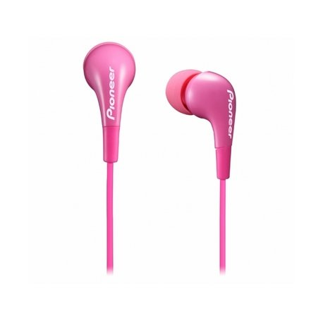 ECOUTEURS PIONEER INTRA AURICULAIRES SE-CL502 P STEREO JACK 3,5 MM ROSE