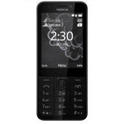 TELEPHONE PORTABLE NOKIA 230 DUAL SIM ECRAN 2,8 '' PHOTO 2MP GRIS FONCE