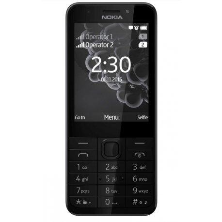 TELEPHONE PORTABLE NOKIA 230 DUAL SIM ECRAN 2,8 '' PHOTO 2MP GRIS FONCE