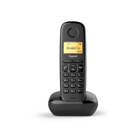 TELEPHONE SANS FIL DECT GIGASET A170 NOIR