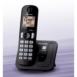 TELEPHONE SANS FIL PANASONIC KX-TGC210 MAINS LIBRES NOIR