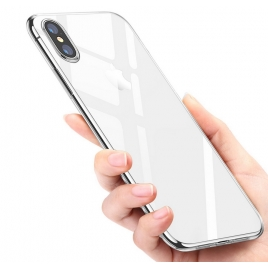 COQUE SILICONE SOUPLE IPHONE X/XS TRANSPARENTE