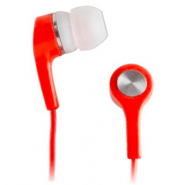 ECOUTEURS STEREO SETTY JACK 3,5 MM ROUGE