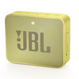 HAUT PARLEUR BLUETOOTH JBL GO2 PORTABLE ETANCHE IPX7 JAUNE