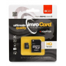 CARTE MEMOIRE IMRO CARD MICRO SDHC 8 GIGA CLASS 10 + SUPPORT SD