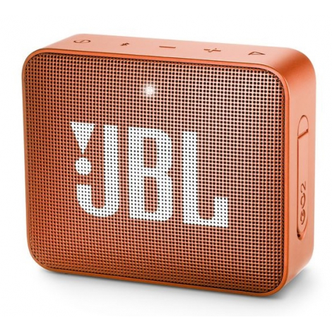 HAUT PARLEUR BLUETOOTH JBL GO2 PORTABLE ETANCHE IPX7 ORANGE