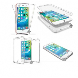 COQUE SILICONE SOUPLE IPHONE 6/6S/7 + FILM TRANSPARENT