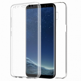 COQUE GEL SILICONE 360 ° SAMSUNG GALAXY S10 AVANT ARRIERE MOCCA CRYSTAL