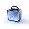 ENCEINTE LUMINEUSE 3D MIRROR LEDWOOD LED-5085BT BLUETOOTH NOIRE
