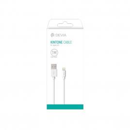 CABLE USB MICRO USB DEVIA 1 M BLANC