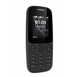TELEPHONE MOBILE NOKIA 105 ECRAN 1,8 '' PHOTO LAMPE LED DUAL SIM NOIR