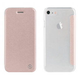 HOUSSE ETUI FOLIO IPHONE 7/6S/6 MUVIT OR ROSE