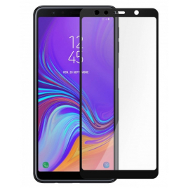 FILM SAMSUNG GALAXY A7 VERRE TREMPE 5D 9 H BORDS NOIRS