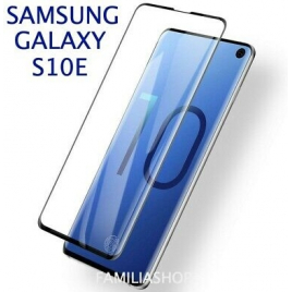 FILM SAMSUNG GALAXY S10 E VERRE TREMPE 5D 9 H BORDS NOIRS
