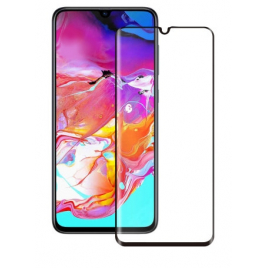 FILM SAMSUNG GALAXY A70 VERRE TREMPE 9H 5D BORDS NOIRS