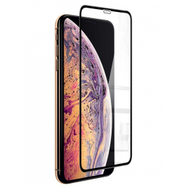 FILM IPHONE X/XS VERRE TREMPE 9 H BORDS NOIRS