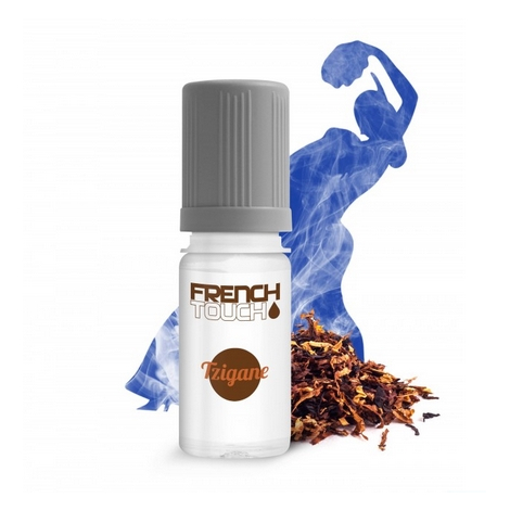 TZIGANE TABAC BRUN 6 MG E-LIQUIDE FRANCAIS FRENCH TOUCH