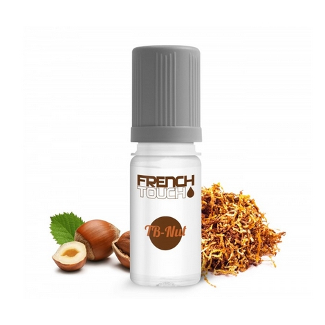 10 PIECES TABNUT TABAC BLOND NOISETTE 16 MG E-LIQUIDE FRANCAIS FRENCH TOUCH