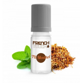 10 PIECES TABAC MENTHOL BLOND 11 MG E-LIQUIDE FRANCAIS FRENCH TOUCH