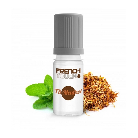 TABAC MENTHOL BLOND 16 MG E-LIQUIDE FRANCAIS FRENCH TOUCH