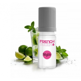 10 PIECES MOJITO 0 MG E-LIQUIDE FRANCAIS FRENCH TOUCH