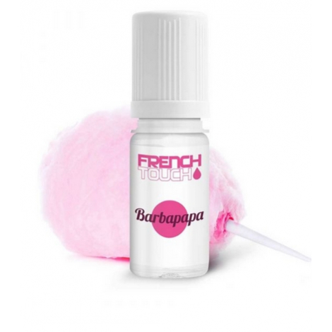 10 PIECES BARBAPAPA 11 MG E-LIQUIDE FRANCAIS FRENCH TOUCH