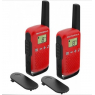 TALKIE-WALKIE MOTOROLA TALKABOUT T42 GO LIVE ROUGE
