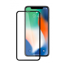 FILM IPHONE 11 VERRE TREMPE 5D INCURVE BORDS NOIRS SOUS BLISTER
