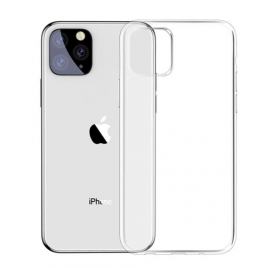 COQUE SILICONE IPHONE 11 PRO MAX TRANSPARENTE SOUS BLISTER