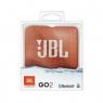 HAUT PARLEUR BLUETOOTH JBL GO2 PORTABLE ETANCHE IPX7 ORANGE