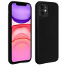 COQUE SILICONE IPHONE 11 PRO 5,8 '' SOFT TOUCH SEMI RIGIDE NOIRE SOUS BLISTER