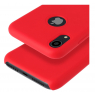COQUE SILICONE IPHONE XR 6,1 '' SOFT TOUCH SEMI RIGIDE ROUGE SOUS BLISTER