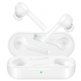 ECOUTEURS BLUETOOTH HUAWEI FREEBUDS LITE TAP CONTROL IPX4 STEREO BLANC